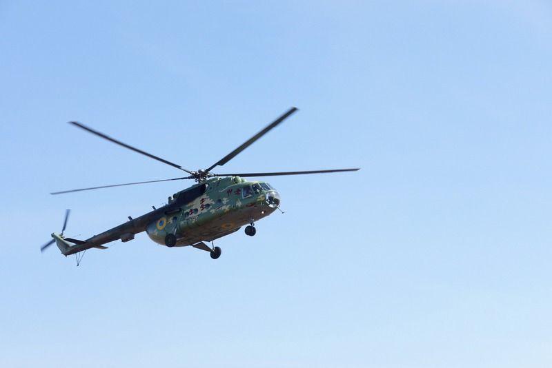 Вертолет Ми-8 разбился во время учебно-тренировочного полета / фото Минобороны