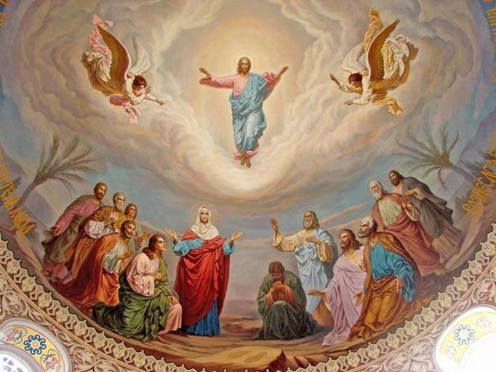 Вознесение празднуют на 40 день после Пасхи