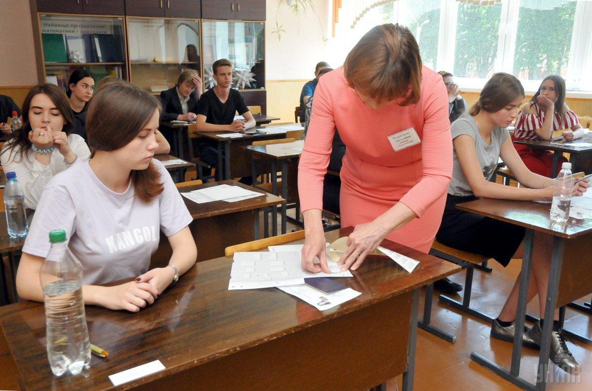 Сегодня в Украине проходит ВНО с Украинского языка и литературы / фото УНИАН