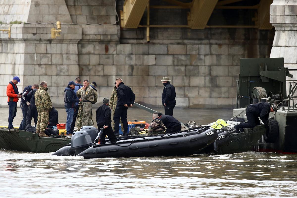 Аварія на Дунаї / REUTERS