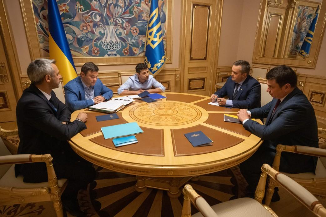Зеленський зазначив, що громадяни України вимагають невідворотності покарання для корупціонерів / фото president.gov.ua
