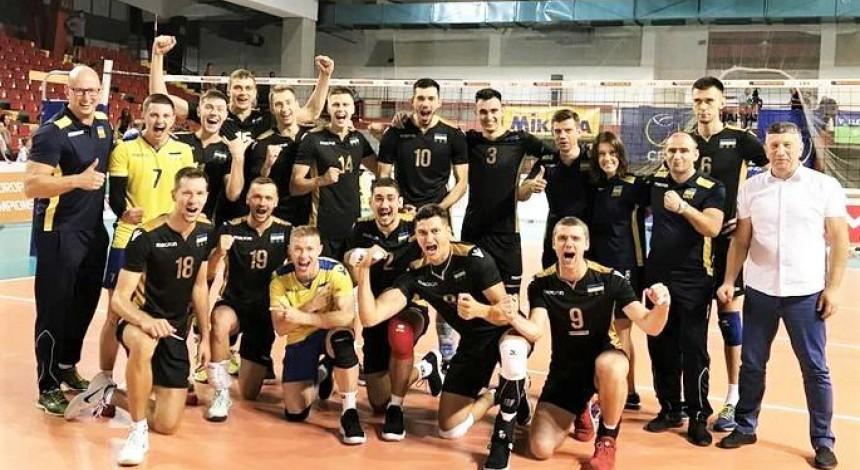 Сегодня сборные Украины по волейболу стартуют в Золотой Евролиге