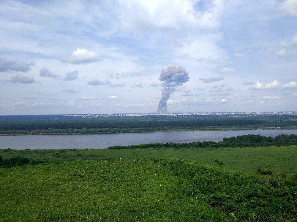 Уровень радиации в российском городе Северодвинске 8 августа после аварии увеличился в 16 раз / фото t.me/lentachold
