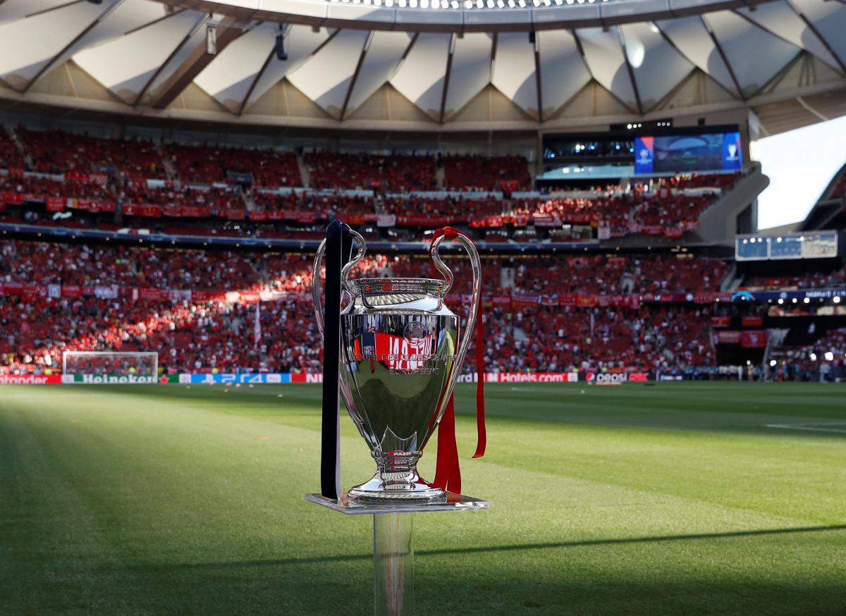 Трофей Лиги чемпионов / REUTERS