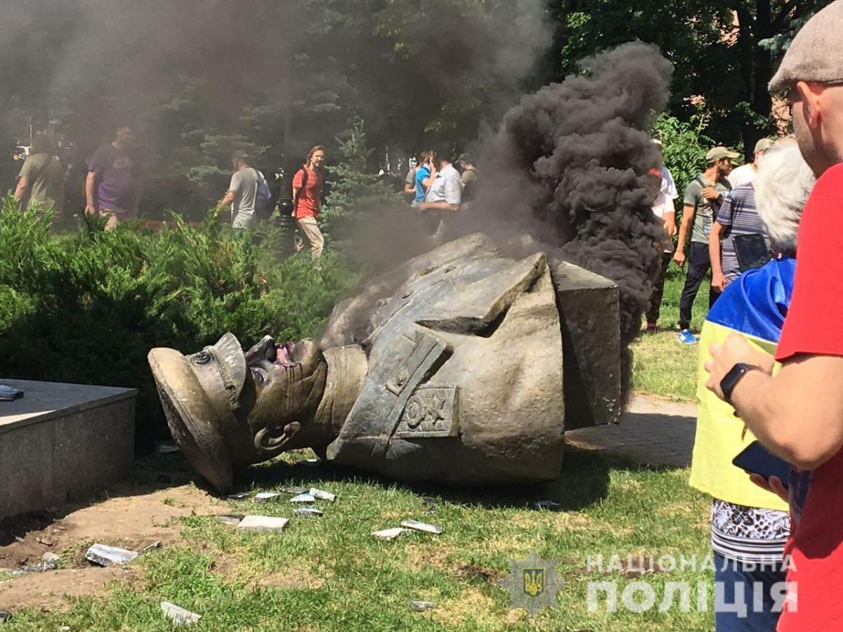 Проводиться досудове розслідування / фото: прес-служба поліції Харківської області