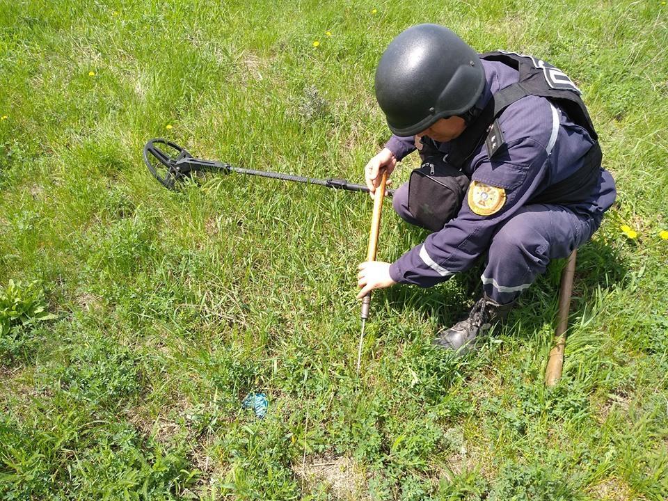 Инцидент произошел 15 октября в городе Хуст / фото пресс-центр Штаба ООС, Facebook