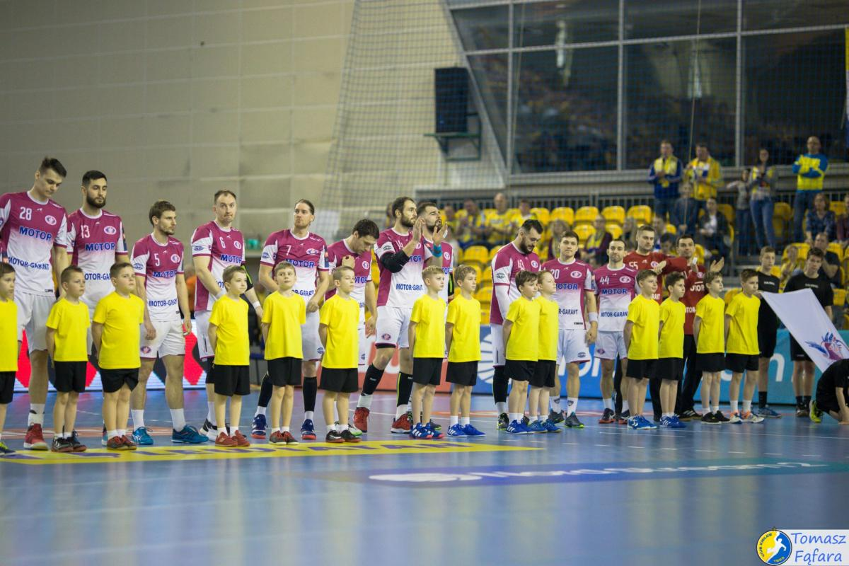 Мотор будет играть в международной лиге / фото: handball.motorsich.com