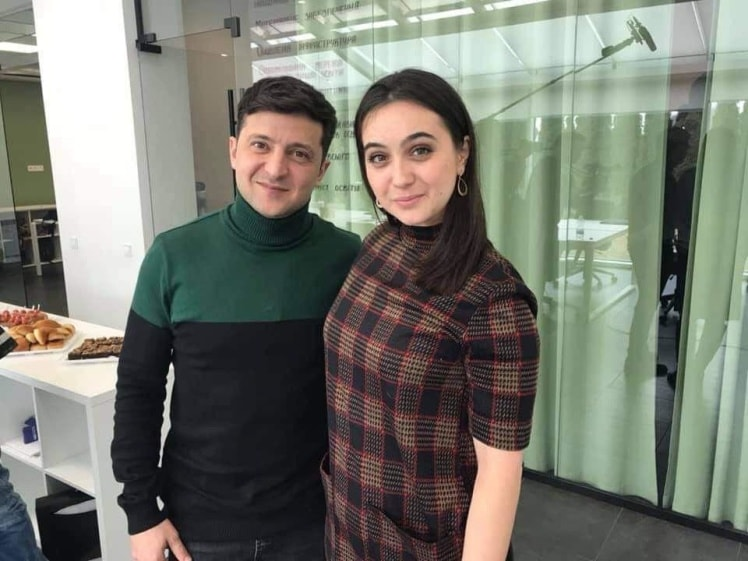 Зеленскийназначил Мендель своим пресс-секретарем / фото Facebook / Iuliia Степанова