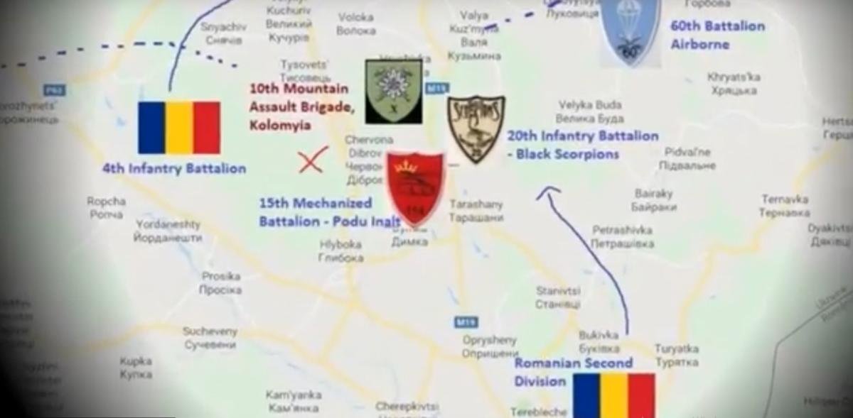 Мужчина заявил, что подерживает украинскую независимость и уважает границы Украины / скриншот