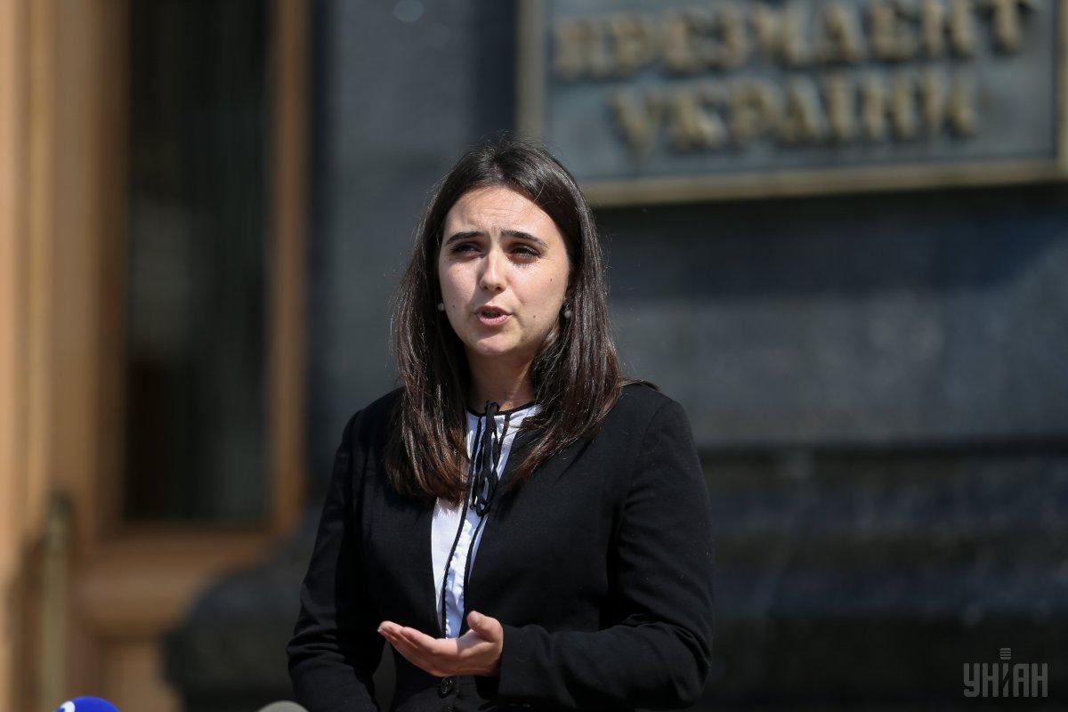 Мендель отреагировала на расследование в отношении Зеленского и секретаря Совбеза РФ в Омане / фото УНИАН