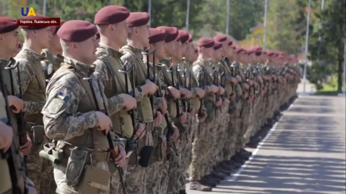Во Львовской области стартовали военные учения / скриншот