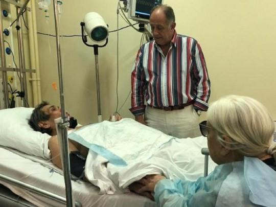 """Син Алібасова розповів, як його батько опинився в лікарні / фото PR-агентства """"Червоне Слово"""""""
