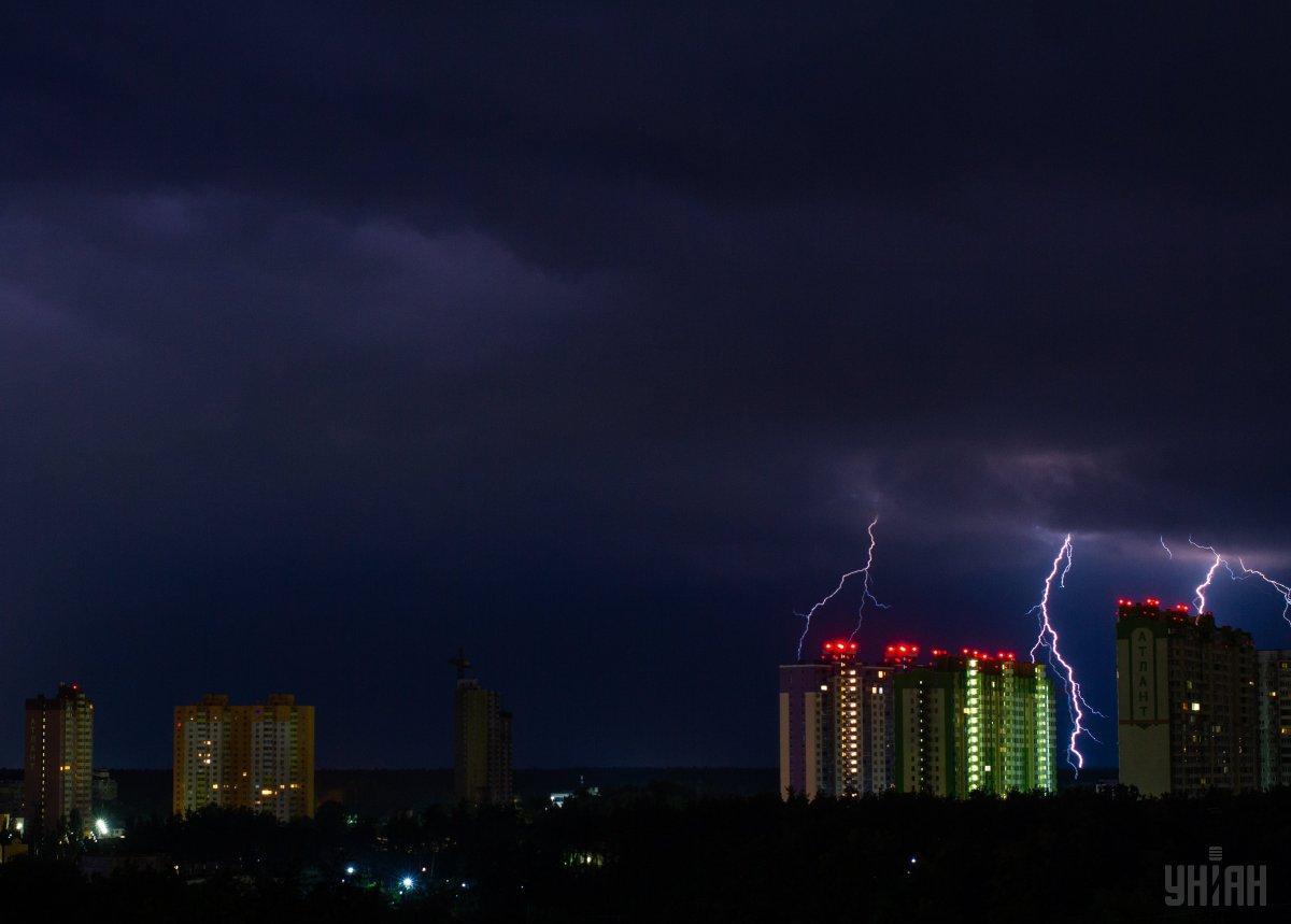 Киевлян предупредили о грозе / фото УНИАН