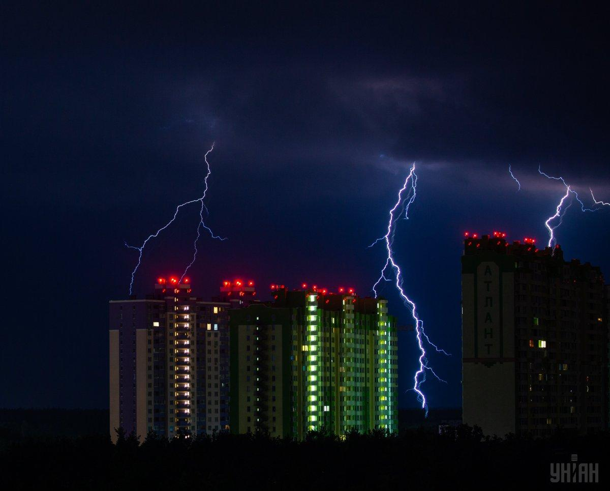 Киевлян предупредили о сильном ветре и грозе / фото УНИАН