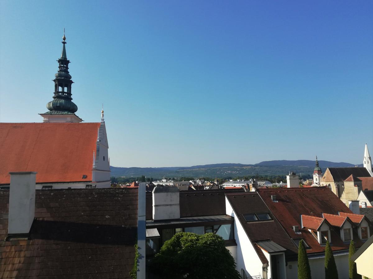 Вид на Кремс з тераси Kremser Frauenbergkirche / Фото Марина Григоренко