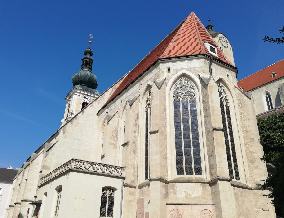 Церкви святого Николая в Кремсе / Фото Марина Григоренко