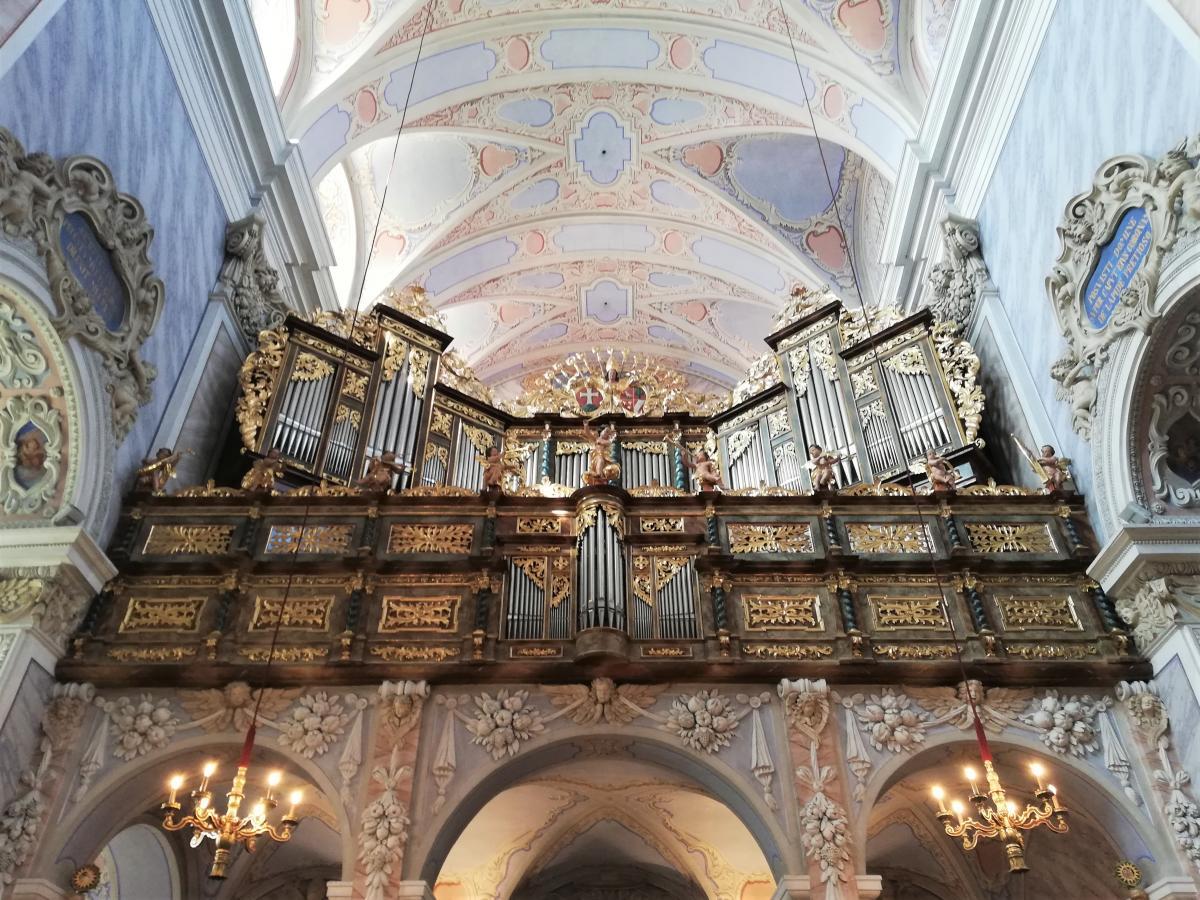 Орган церкци абатства Гьоттвейг / Фото Марина Григоренко