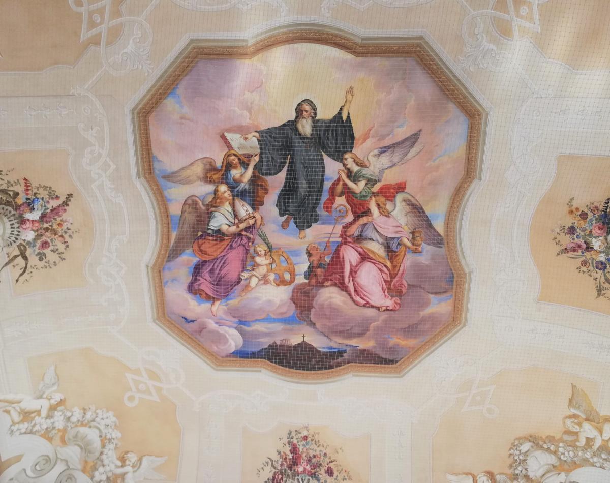 Розписи в абатстві Мельк / Фото Марина Григоренко