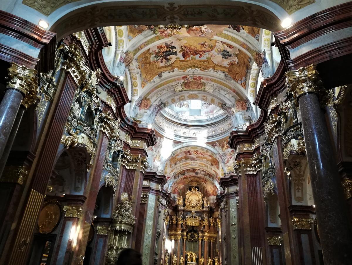 Вважається, що в Мельку - найрозкішніше бароко в Австрії / Фото Марина Григоренко