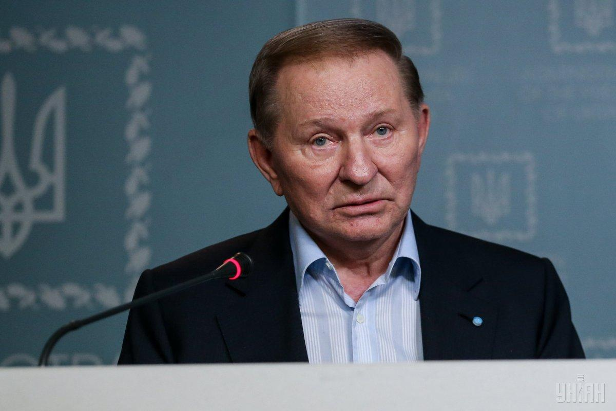 Kuchma has agreed to Zelensky's proposal to act as Ukraine's envoy / Photo from UNIAN