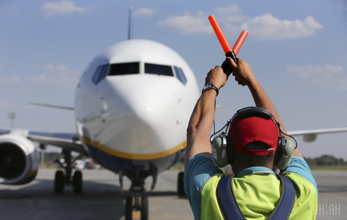 В аэропорту Днепра построят новую взлетно-посадочную полосу за 24,5 млн грн / фото УНИАН