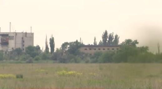 Оккупанты обстреливают силы ООС возле Горловки / Скриншот видео ТСН