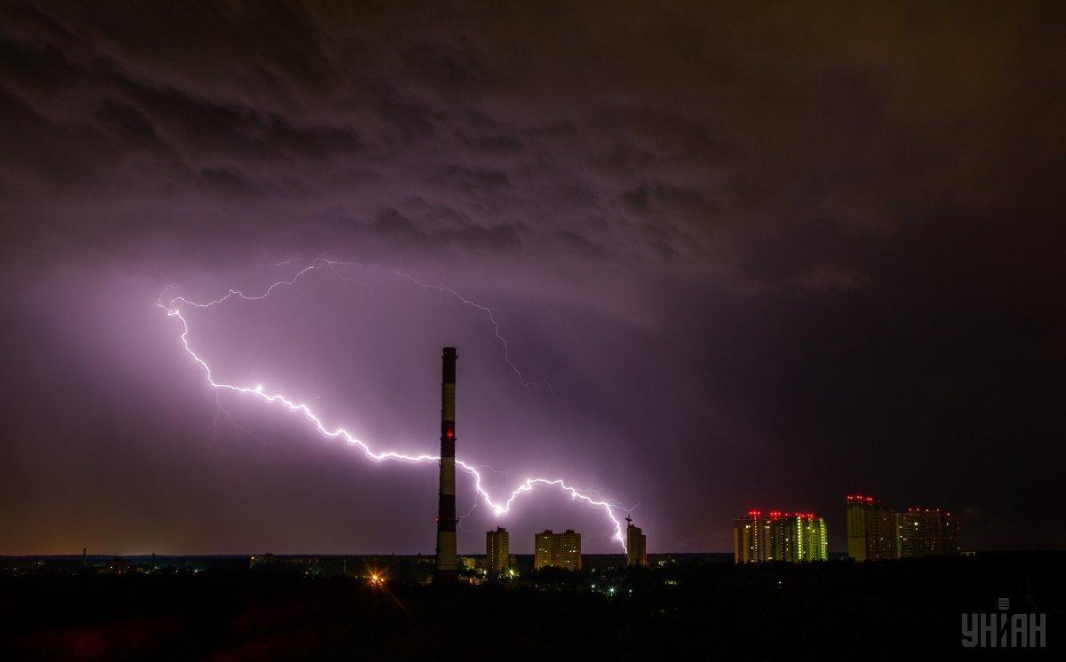До конца суток в Киеве ожидается гроза / фото УНИАН