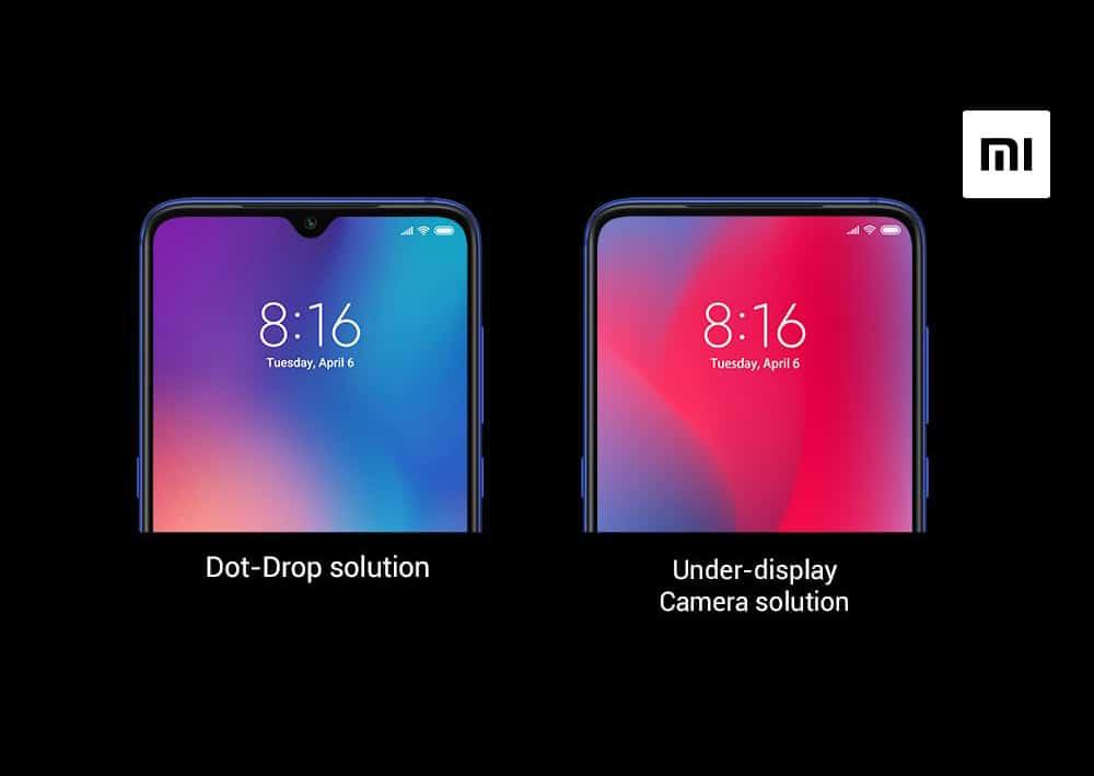 Xiaomi пояснила, как работает её камера под дисплеем смартфона / фото  Xiaomi