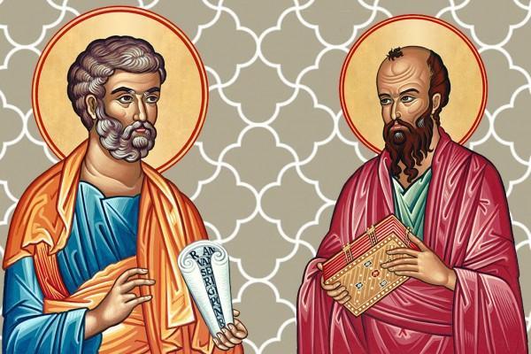 Піст в пам'ять про двох найбільш шанованих апостолів Петра і Павла
