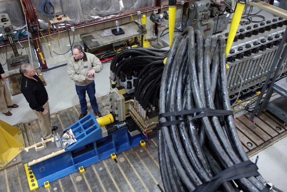 Пушка оснащена особой защитой, чтобы ее излучение на влияло на работу корабельных систем / Фото: Space.com