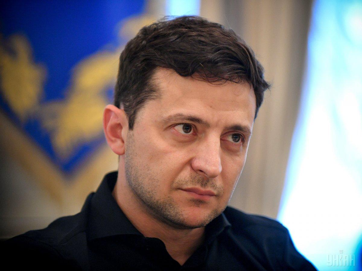 President Volodymyr Zelensky / Photo from UNIAN