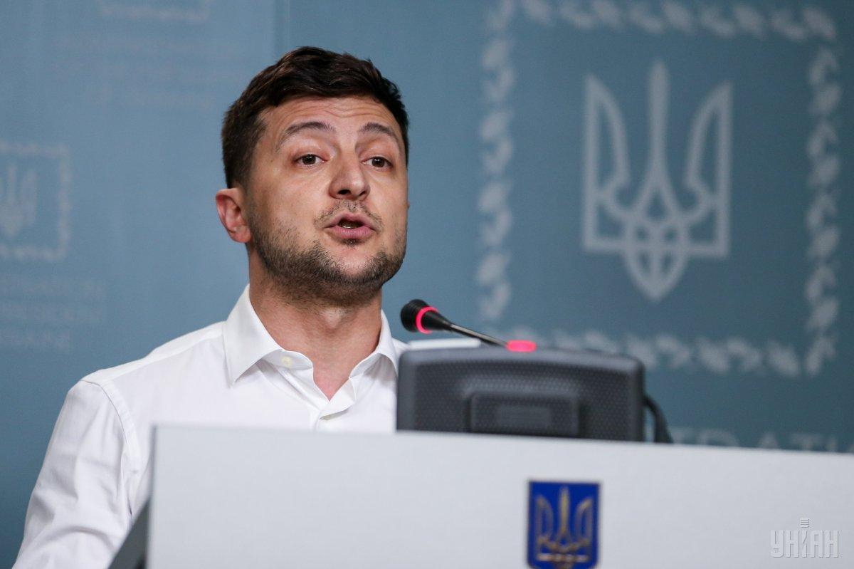 Президент Володимир Зеленський/ фото УНІАН