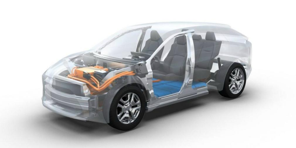 Subaru предоставит свой опыт в области создания систем полного привода / фото media.subaru-global.com