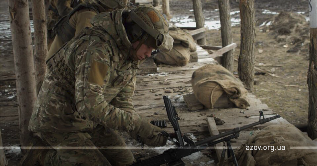 Фото: пресс-служба полка «Азов»