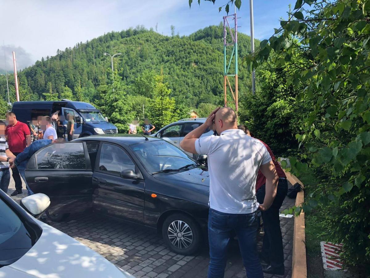 Як зазначається, майор поліції сфальсифікував матеріали про ДТП/ фото: управління СБУ у Львівській області
