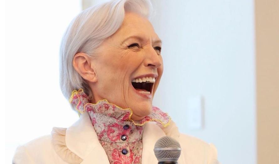 71-летняя модель появилась на форуме Health Summit в Нью-Йорке / Фото: Instagram