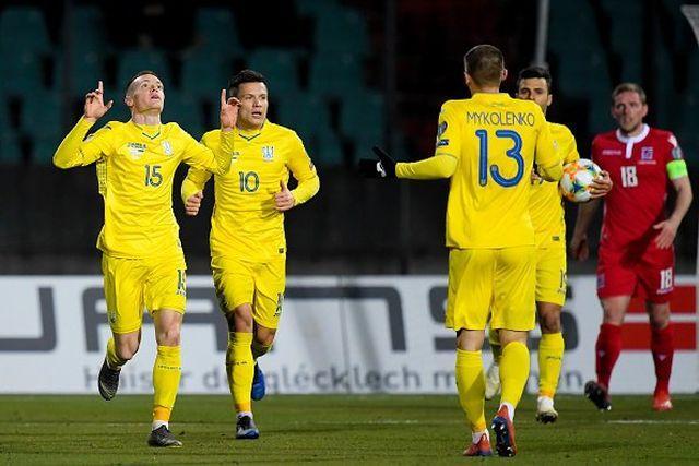 Україна обіграла Сербію у Львові / фото: UEFA