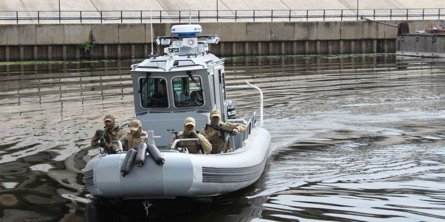 Бойцы на практике отработали элементы спасательных и штурмовых операций / dpsu.gov.ua