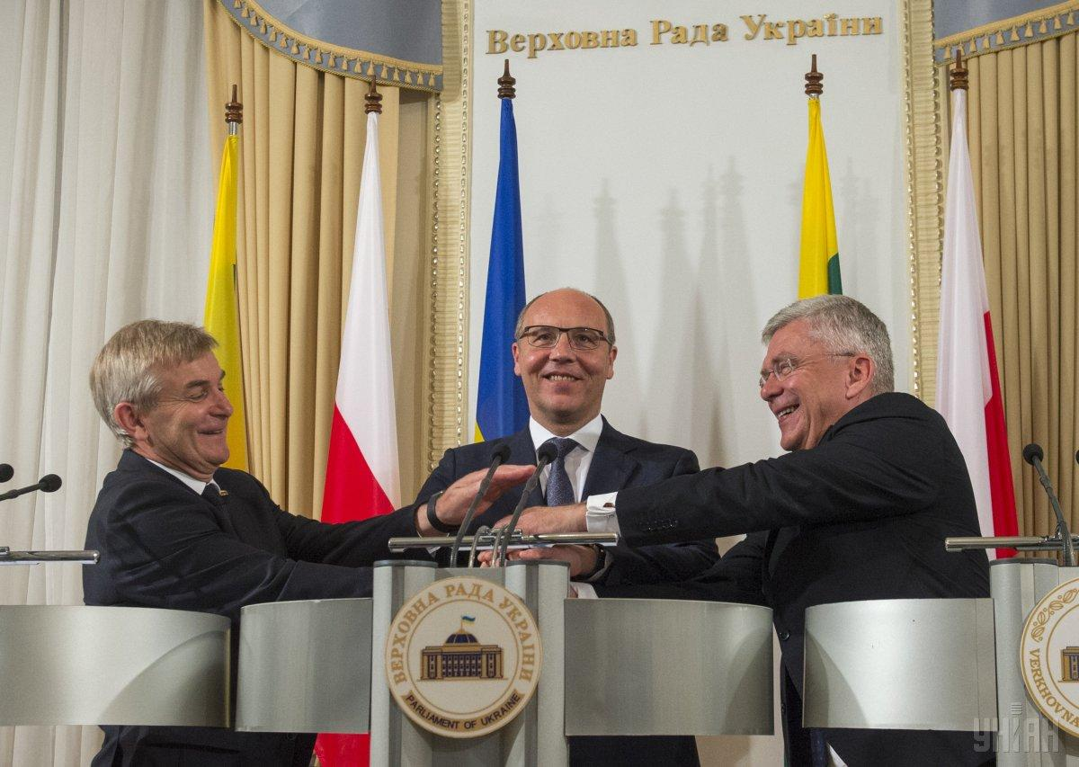 The 10th Ukraine-Lithuania-Poland Inter-Parliamentary Assembly took place in Kyiv / Photo fro UNIAN