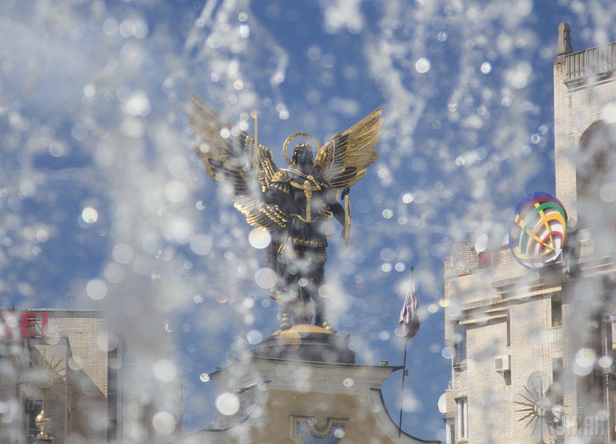 Завтра в столице вновь будет жарко / фото УНИАН