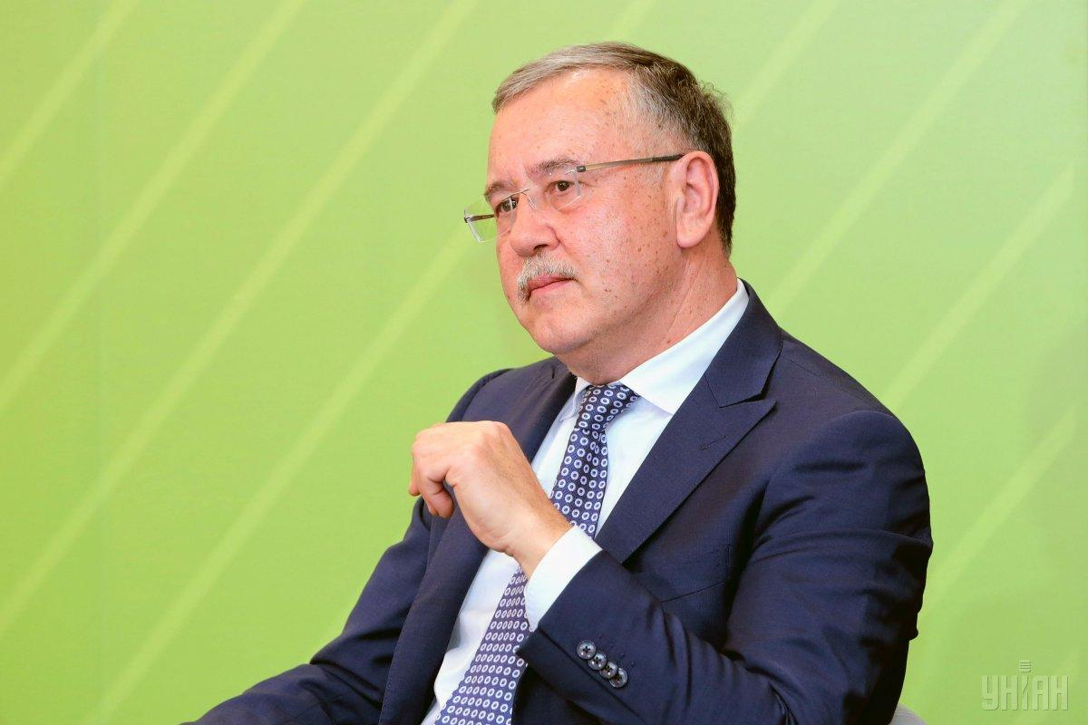 Гриценко возглавил список Гражданской позиции / фото УНИАН
