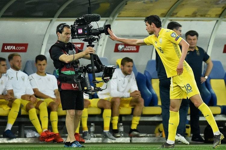 В предыдущем матче Украина разгромила Сербию / фото: УАФ