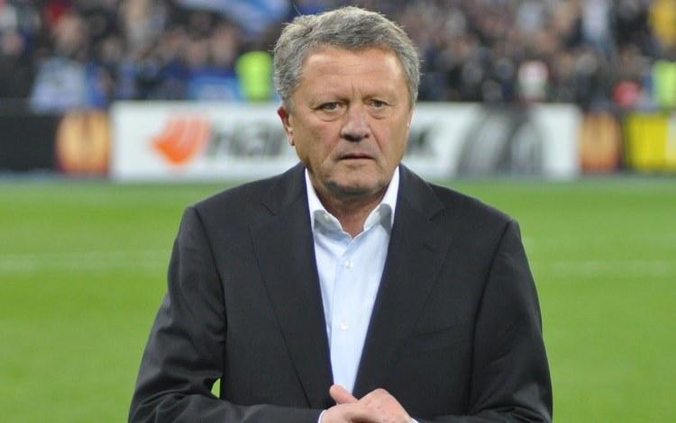 Мирон Маркевич дав пораду Андрію Шевченку перед матчем Україна - Люксембург / фото: УАФ