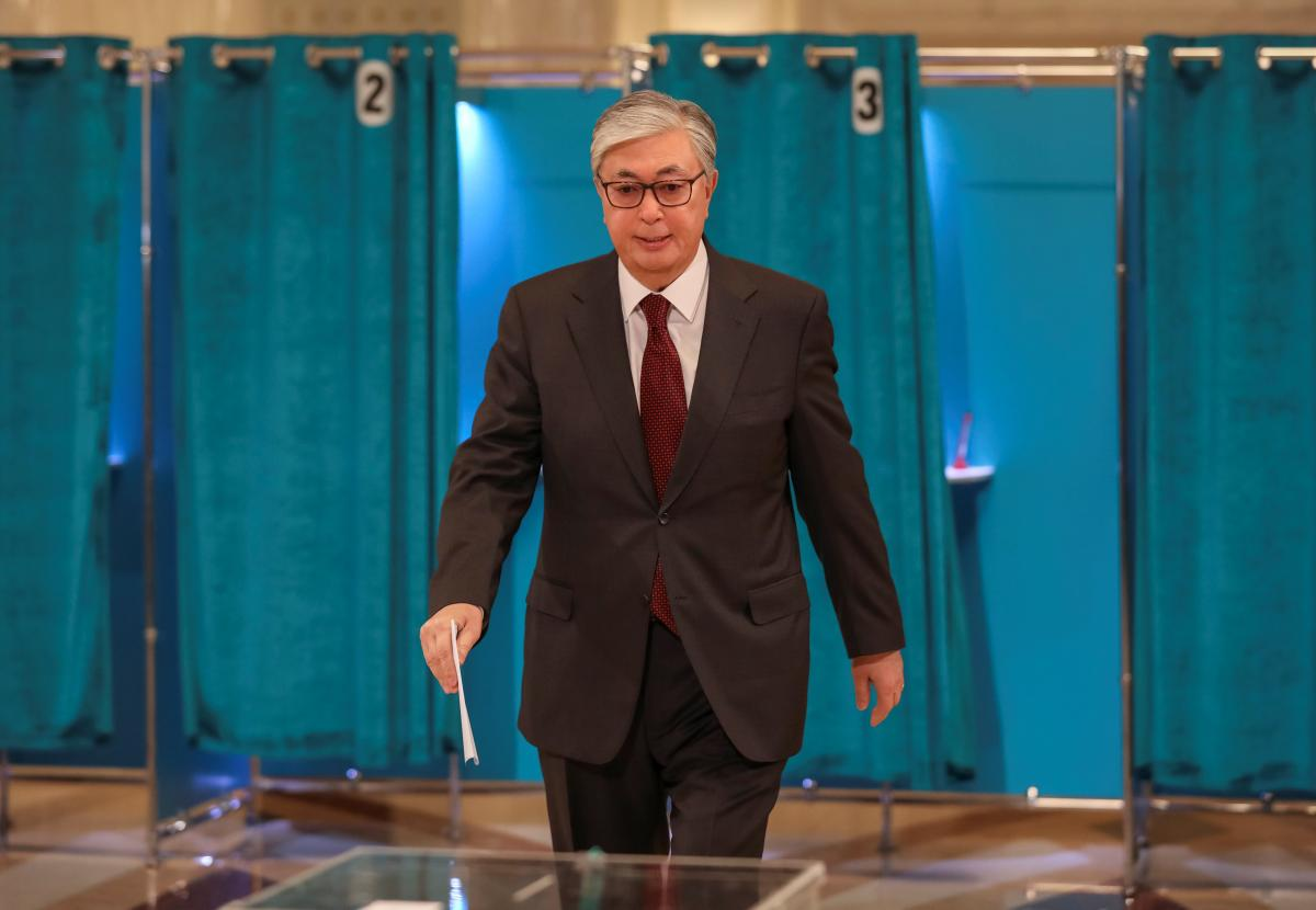 Касым-Жомарт Токаев / REUTERS