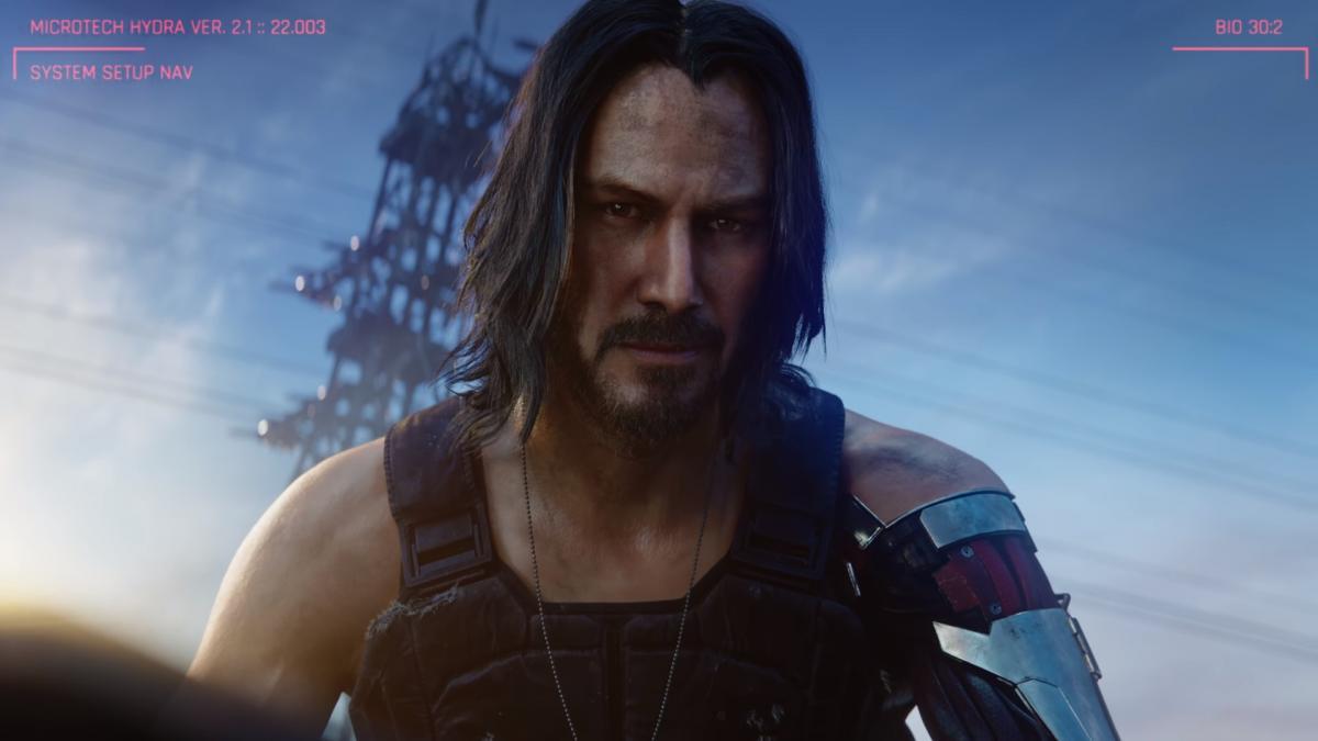 В игре появится персонаж, которого играет Киану Ривз / скриншот