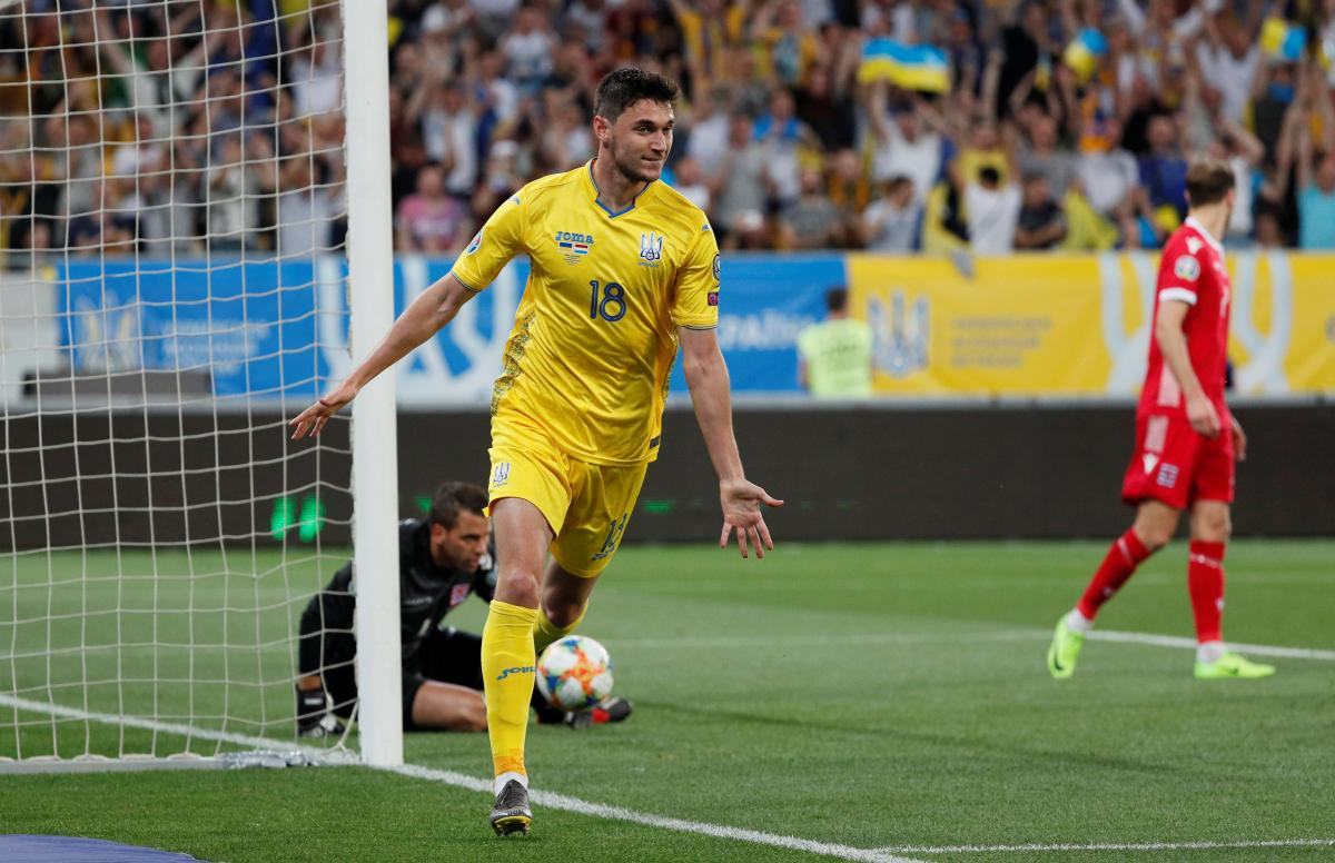 Україна - Люксембург / REUTERS