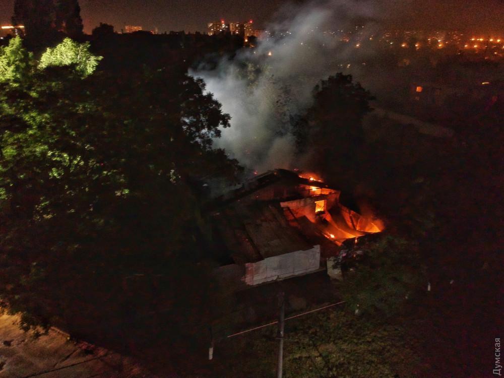 Від пожежі в одеській психлікарні загинула ще одна людина / фото Думская
