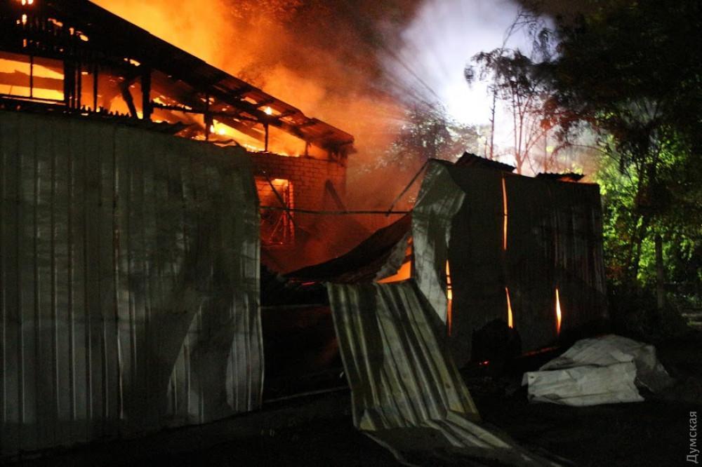 От пожара в одесской психбольнице погиб еще один человек / фото Думская