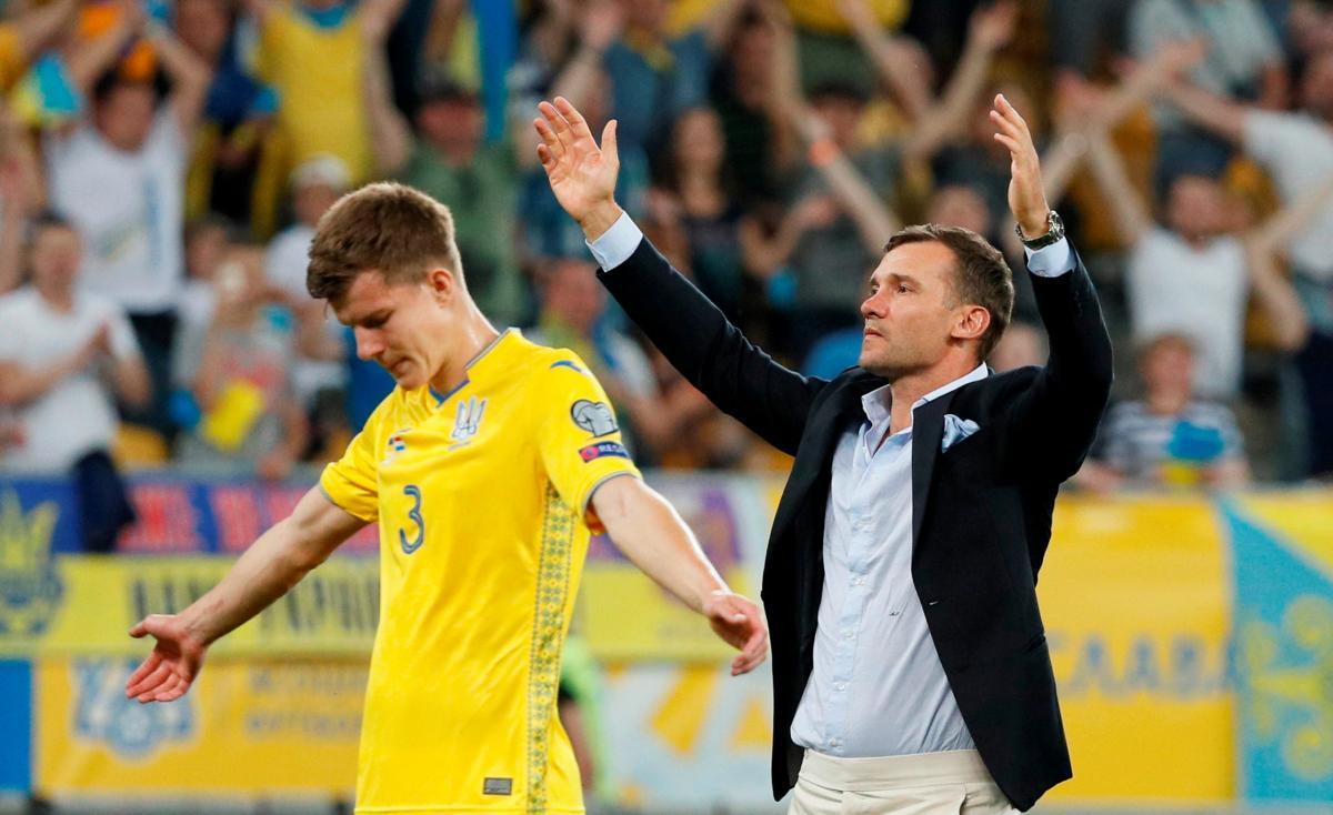 Украина - Люксембург / REUTERS