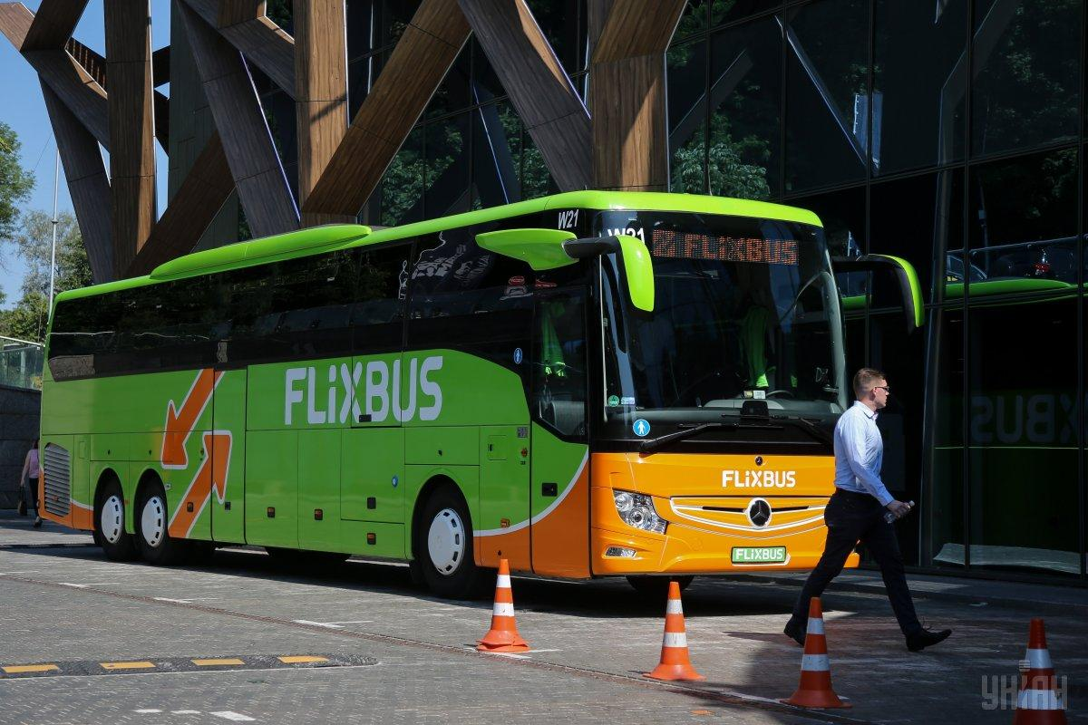 перші рейси FlixBus відбулися в 2017 році / фото УНІАН
